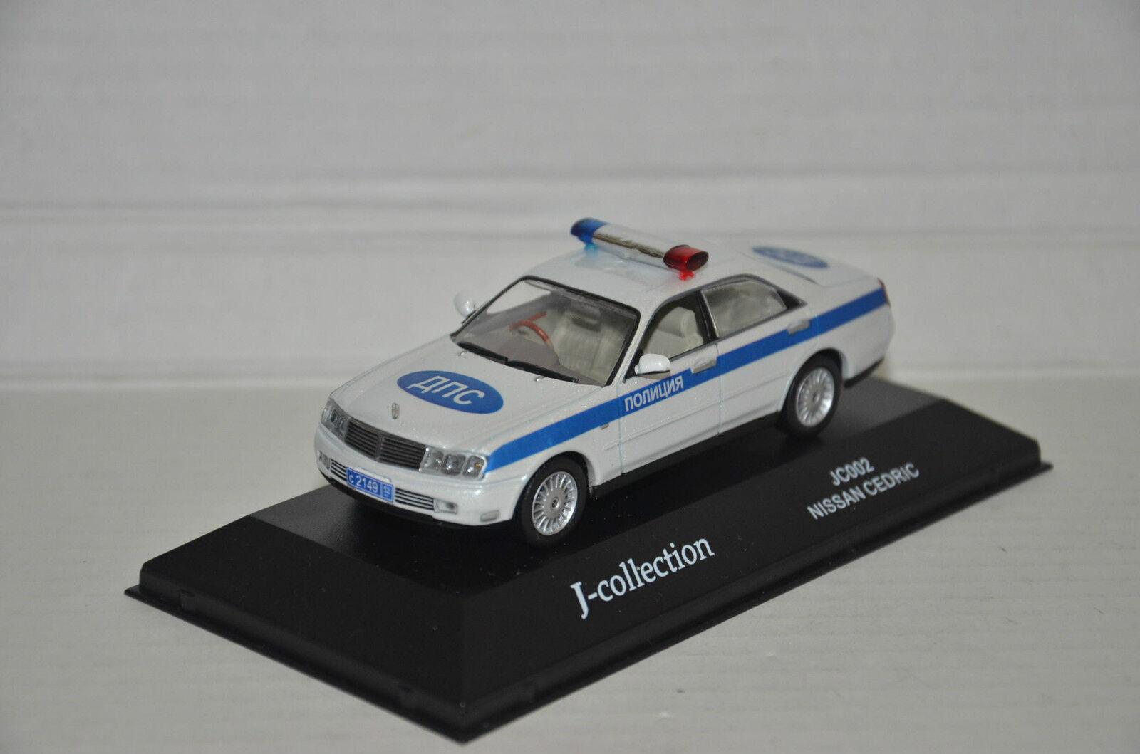 Raro    la policía rusa Nissan Cedric Hecho a Medida 1 43