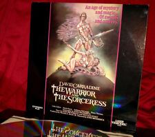 'WARRIOR and the SORCERESS' - R-Rated Fantasy Fave on 12-Inch Laser Disc, NM
