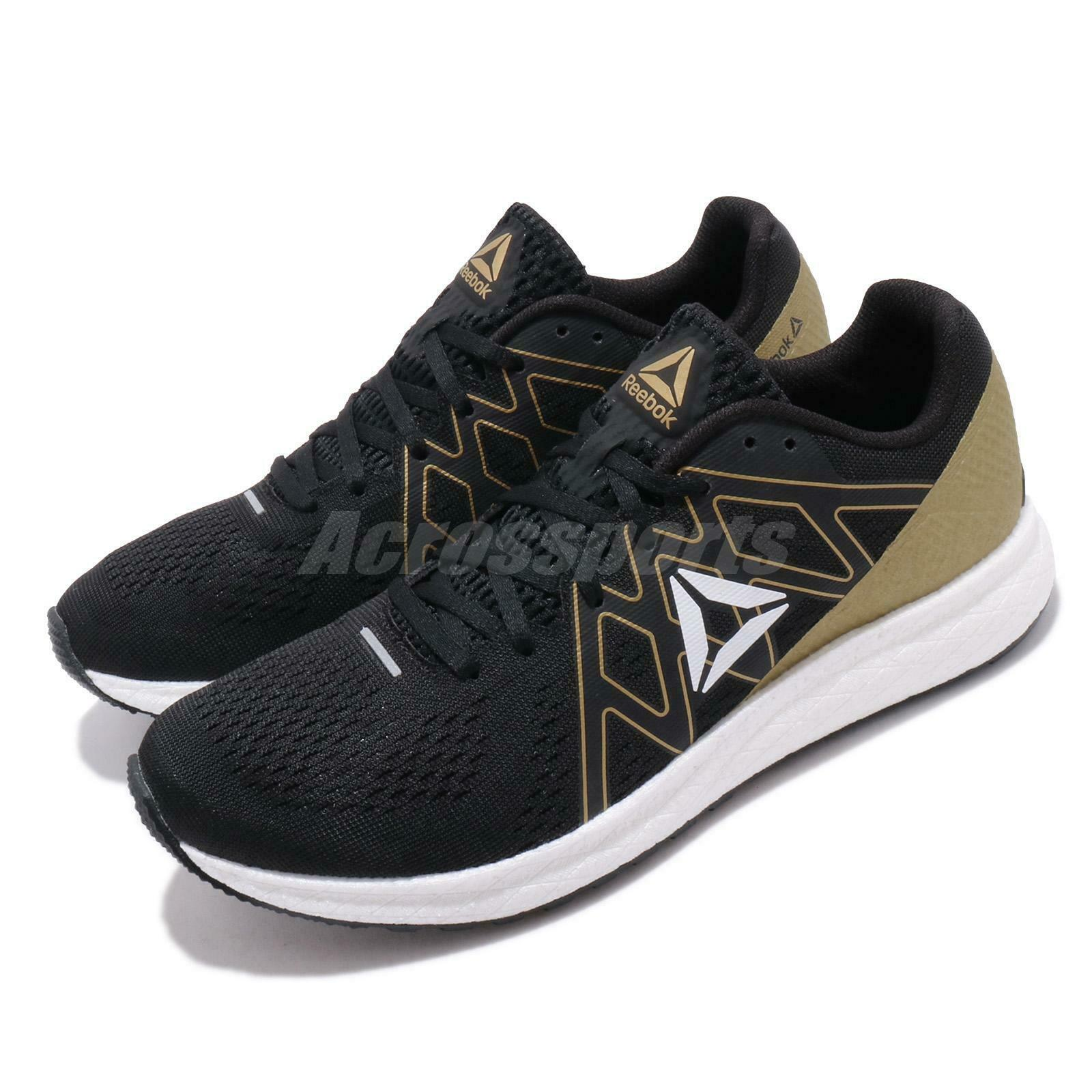 Reebok Forever Floatride Energy Noir or Blanc Comme neuf Hommes Chaussures De Course EF7545