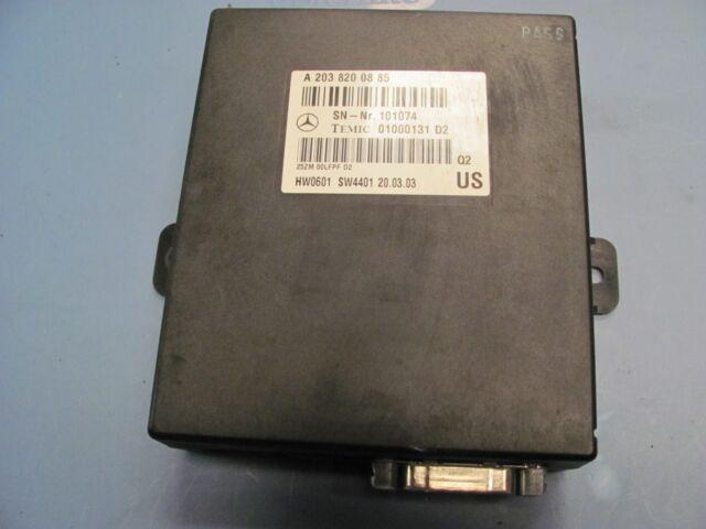 2000 01 02 03 2006 MERCEDES-BENZ W220 S430 S500 VOICE CONTROL MODULE 2038200885