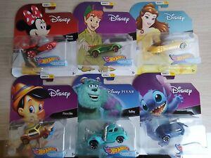 Hot-Wheels-Personaje-de-Disney-Diecast-coches-serie-2-Nuevo-Y-En-Caja-Elige-tu-propio