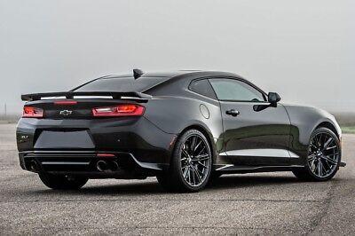 20x10 / 20x11 5x120 MRR M650 Black ZL1 Style Wheels For ...