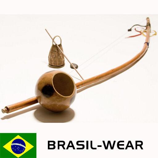 BERIMBAU CAPOEIRA AUS BAHIA 105 cm ORIGINAL BERIBA HOLZ BRASILIEN AXE SAMBA RODA