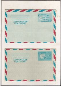 Philippines-AIRLETTER-Postal-stationary-collection-18-different-1946-1994