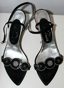 Emanuela-Passeri-womens-strap-sandals-Eur-36-US-Aus-5-5-UK-3-5-Used-from-Italy