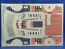Race Car Decal Sheet 1971 Corvette 125 Scl 1000s Model Car Parts 4 Sale