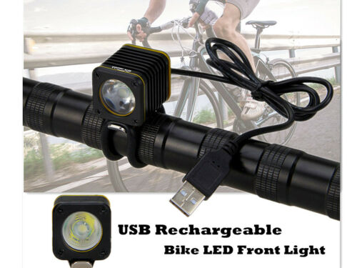 Small Bicycle Light Head USB 5000lm 4 modes XM-L T6 LED Torch Bike Mountain Lamp