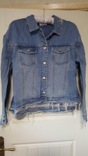 Uk Jean Con Jacket Style Jackie Etichette 42 Hundred Size 14 Nuovo Eu Ladies Won pqE70
