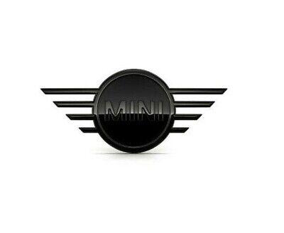 Original Mini f55 f56 f57 Emblem Badge Piano Black noir pour l/'avant /& arrière