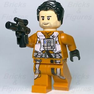 Star-Wars-LEGO-Poe-Dameron-Resistance-Fighter-Pilot-Minifig-Episode-7-Genuine