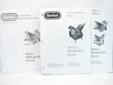 Berkel 829a Amp 839a Slicers Service Manual Owneroperator Manual Amp Parts Manual