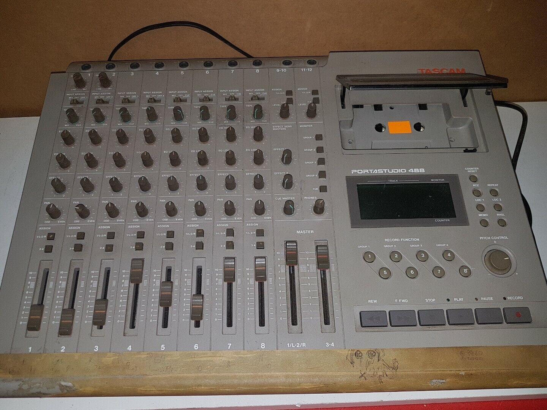 TASCAM PORTASTUDIO 488 TAPE RECORDER  8 TRACK