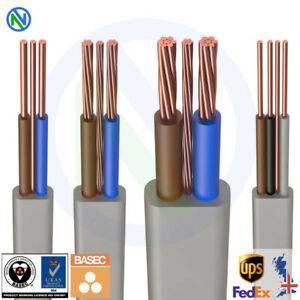 TWIN-AND-EARTH-CABLE-WIRE-ALL-SIZES-6242Y-6243Y-6491X-CUT-TO-LENGTH-T-amp-E