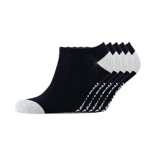 Assorted Crosshatch 5 Pack Men/'s Mixster Trainer Socks