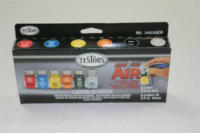testors acrylic paint oz pre thinned airbrush