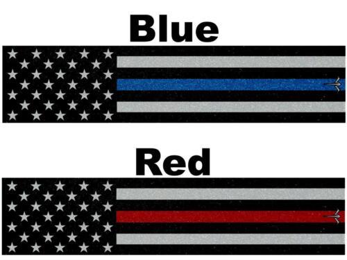 Eau Blanche Tir à l/'arc mince bleu ou ligne rouge Drapeau Américain ARROW Wraps 15 pc