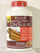 trunature ADVANCED STRENGTH CINSULIN 170 Capsules