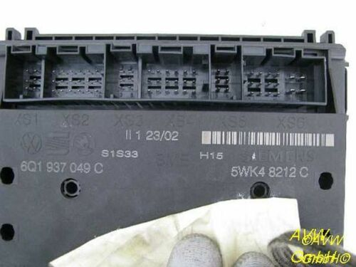 1.4 16V 6L1 Steuergerät Zentralelektrik BMI 6Q1937049C SEAT IBIZA IV