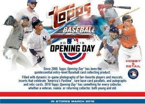 2018-Topps-Opening-Day-Baseball-Complete-Your-Set-Pick-25-Cards-From-List