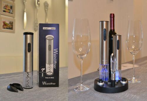 Korkenzieher,Elektrischer Korkenzieher Weinset Flaschenöffner Weinflaschenöffner