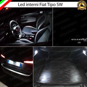 KIT LED INTERNI + TARGA CANBUS FIAT TIPO STATION WAGON CONVERSIONE TOTALE 6000K