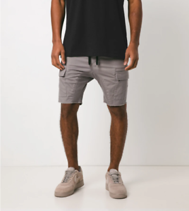 ZANEROBE Mens Sureshot Short Drawstring Chino Shorts