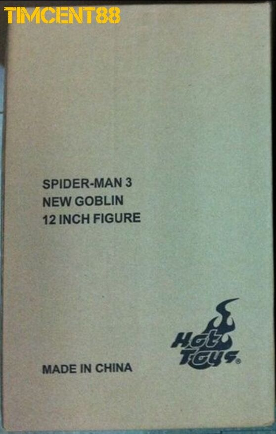 Ready  Hot Toys MMS151 Spiderman 3 - New Goblin Jame Franco 1 6 Sealed Brown Box