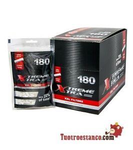 Filtri-X-Trem-Xtra-lungo-6-mm-16-borse-di-180-filtri