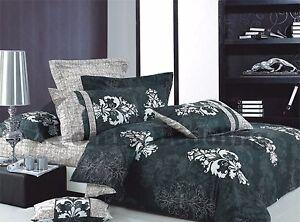 Versailles-3pc-100-Cotton-Bedding-Set-1-Duvet-Cover-2-Pillow-Shams-Queen-King