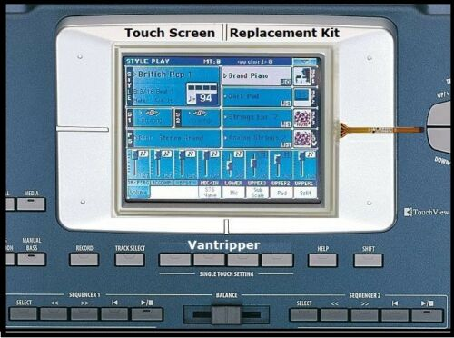 Warranty! D16XD Korg PA800 D32XD Touch Screen Touch Panel Repair Kit