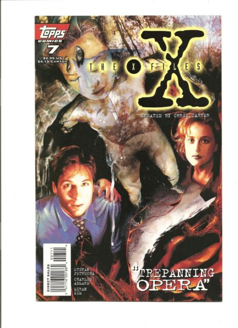The X-Files #7 VF 8.0 1995 Topps See My Store