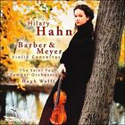 Barber & Meyer: Violin Concertos (CD, Mar-2000, Sony Classical)