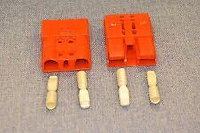 2 X Connettore Anderson sbe160 un Arancione 35mm SQ Jump Batteria Coach Camion