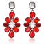 1Pair-Women-Multicolor-Rhinestone-Crystal-Resin-Ear-Stud-Eardrop-Dangle-Earring thumbnail 9