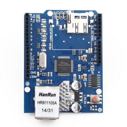 UNO R3 Board Ethernet Shield W5100 SD Slot Erweiterung Tafel For Arduino AHS