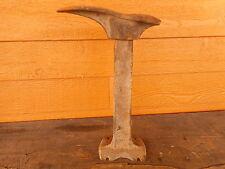 Vintage Cast Iron Shoemaker Cobbler Shoe Repair Stand Form