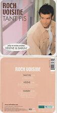 CD CARTONNE CARDSLEEVE 3T ROCH VOISINE TANT PIS INCLUS HELENE VERSION REVISITEE