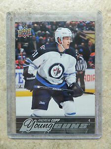 15-16-UD-Series-1-RARE-Promo-Set-JETS-JET-7-ANDREW-COPP-Young-Guns-YG-Rookie