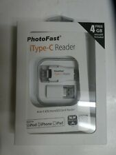microSD 16GB PhotoFast iType-C Card Reader Lightning USB 3.0 Type-C microUSB
