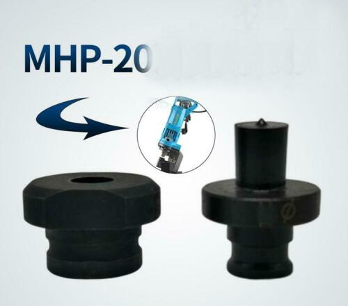 1set  11mm Punch Die of MHP-20 Electric Hydraulic Punch Machine up and down mold