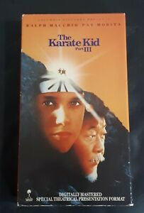 The-Karate-Kid-Part-III-3-VHS-Tapes-1989-RCA-Original-1st-Issues-Release-Edition