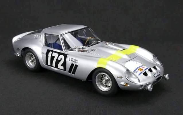 1964 Ferrari 250 Gto Tour de France Édition  172 par Cmc en 1 18 Echelle