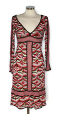 MISSONI summer beach party dress size It 40 UK 8 BNWT pink red