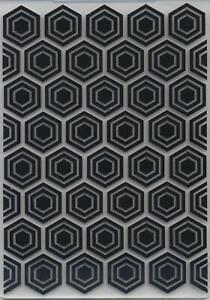 Embossing Folder Hexagons Background 10.5cm x 14.5cm