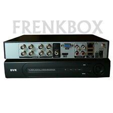 Registratore videosorveglianza Dvr 8 canali AHD ibrido 720p, 2ch 1080p HDMI VGA