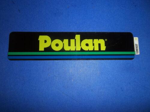 NEW POULAN HOOD FENDER  DECAL 128507  OEM