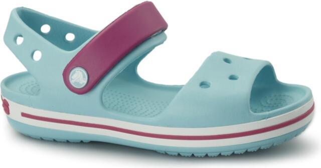 b0e7f181d Kids s Crocs Crocband Sandal Kids Velcro Sandals in Blue UK 4 Infant ...