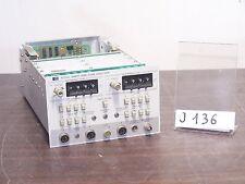 HP 8755C NETWORK ANALYZER PLUG-IN - Use with 180 main frame oscilloscope - *J136