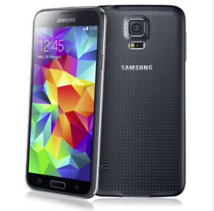 GOOD-Samsung-Galaxy-S5-G900A-Black-AT-amp-T-Cricket-Straight-Talk-LCD-Burn