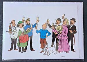 Postogram-Tintin-de-La-Poste-Belge-complet-avec-enveloppe-et-pochette-originale